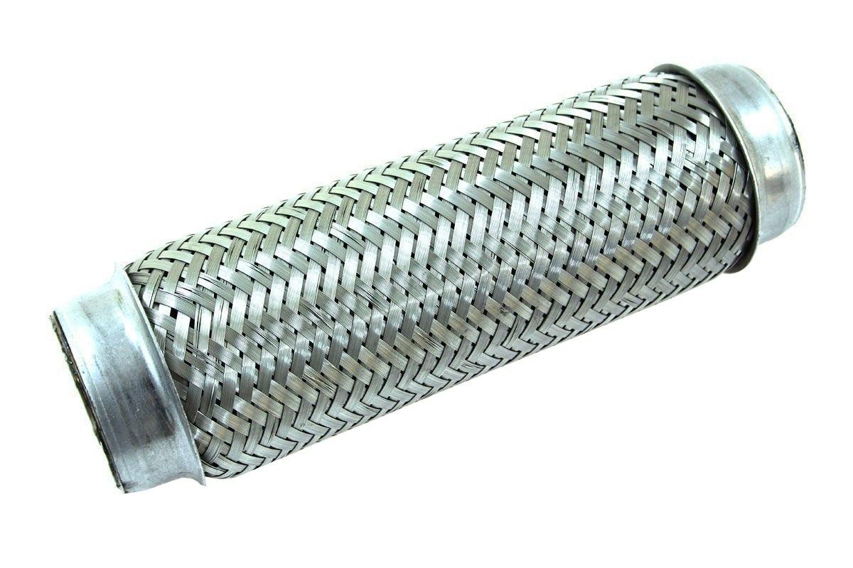 """Łącznik elastyczny wydechu 3"""" 255mm nierdzewka - GRUBYGARAGE - Sklep Tuningowy"""